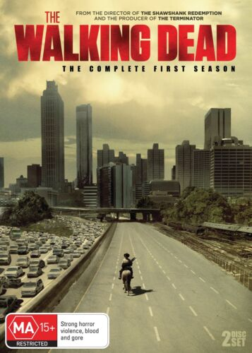 The Walking Dead The Complete First Season 1 Series OneDVD Region 4 NEW