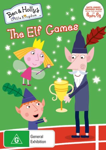 Ben and Hollys Little Kingdom The Elf Games DVD Region 4 NEW