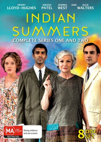 Indian Summers Complete Series 1 Season One and Two Box Set DVD Region 4 NEW