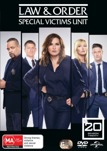 Law and Order Special Victims Unit Season 20 Box Set DVD Region 4 NEW