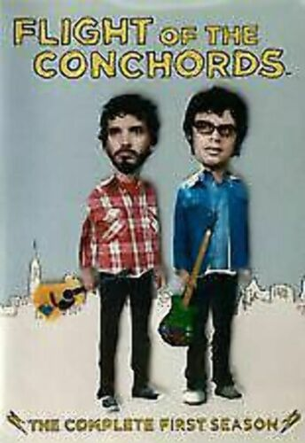 Flight of the Conchords: The Complete First Season DVD (Region4  vgc  t41
