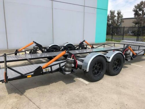 Air Bagged Car Trailer. Car Transport. Ideal For Lowered And Race Cars