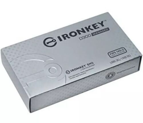 KINGSTON IRONKEY D300 16GB ENCRYPTED USB 3.0 Brand New In Box.