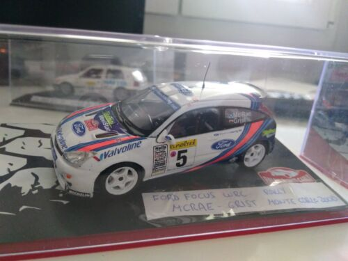 Ford focus wrc rally Monte carlo