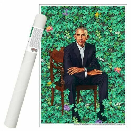 Barack Obama Kehinde Wiley Print National Picture Gallery Poster Sold Out