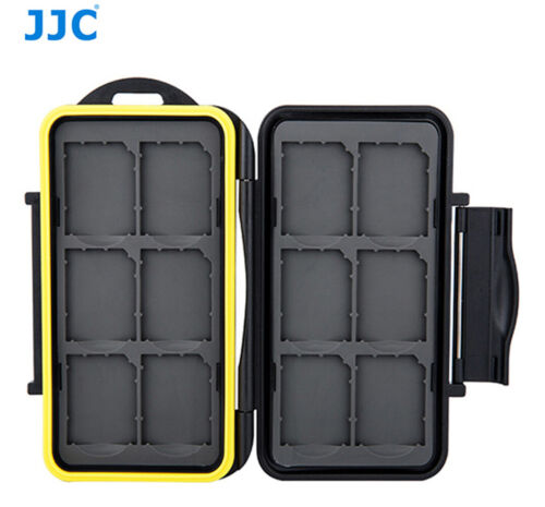 Water-resistant Shockproof Storage Memory Card Case For 12 SD Cards