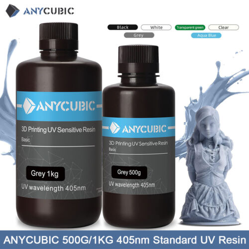 ANYCUBIC 405nm UV Light-Curing Sensitive Resin for SLA LCD 3D Printer Photon S