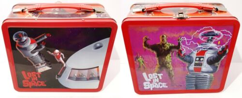 LOST IN SPACE TV Show Tin Collector LUNCH BOX The Fantasy World Of Irwin Allen
