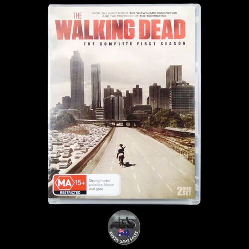 The Walking Dead: The Complete First Season (DVD) R4 - Andrew Lincoln - Horror
