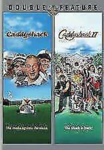 Caddyshack I & II 2 Disc Double Feature DVD Chevy Chase Golf vgc  t26