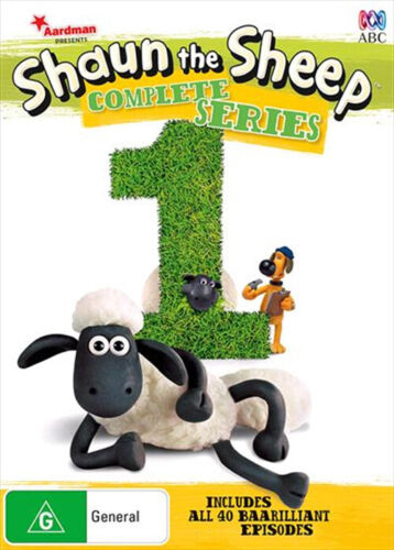 Shaun The Sheep Complete Series 1 One (DVD, 2015, 2-Disc, R4) ABC NEW & SEALED
