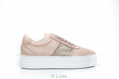 Stokton Rose Leather Sneaker 532-D New in Box