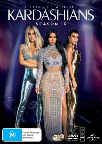 Keeping Up With the Kardashians Season 16 Box Set DVD Region 4 NEW // PRE-ORDER <br/> *** PRE-ORDER *** EXPECTED DELIVERY DATE 16/10/2019 ***