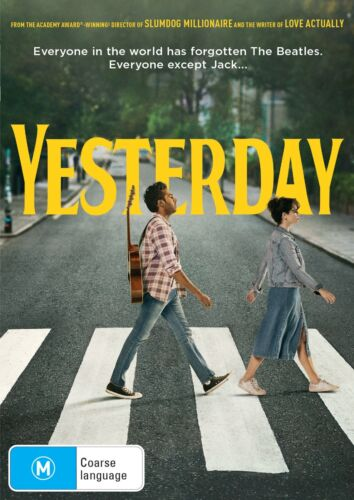 Yesterday DVD Region 4 NEW // PRE-ORDER for 16/10/2019 <br/> *** PRE-ORDER *** EXPECTED DELIVERY DATE 16/10/2019 ***