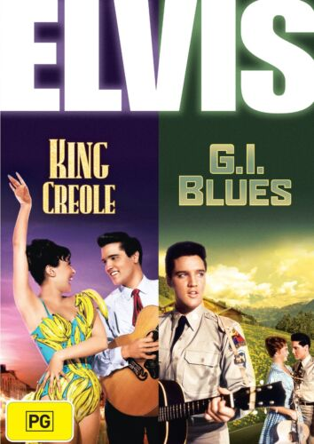 Elvis King Creole / GI Blues DVD Region 4 NEW