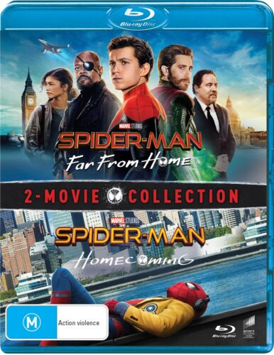 Spider Man Homecoming / Far from Home Blu-ray Region B NEW