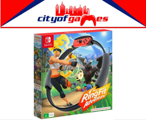 Ring Fit Adventure Nintendo Switch Game Brand New In Stock Now