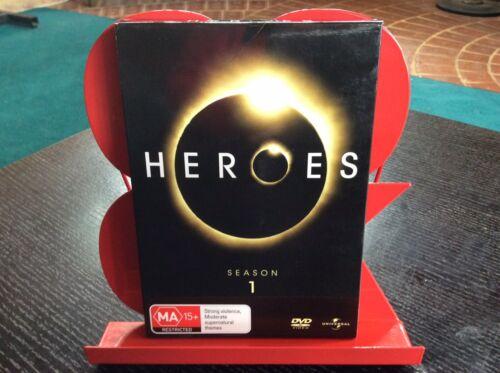 *HEROES* SEASON 1 ~ DVD ~ REGION 4 ~ COMPLETE 7 DISCS ~ LIKE NEW! E.C. FREE POST
