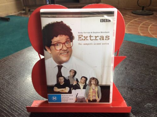 *EXTRAS* COMPLETE SECOND SERIES ~ REGION 4 DVD ~ 2 DISCS EXCELL COND! FREE POST!