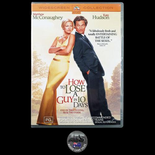 How to Lose a Guy in 10 Days (DVD) R4 Kate Hudson - Matthew McConaughey - Comedy