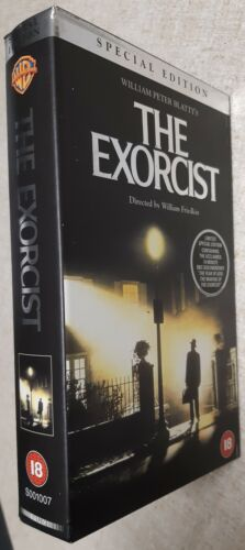 The EXORCIST ~ VHS Video TAPE ~ Special EDITION ~ Tape Still SEALED ~ HORROR
