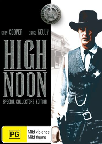 High Noon DVD Region 4 NEW