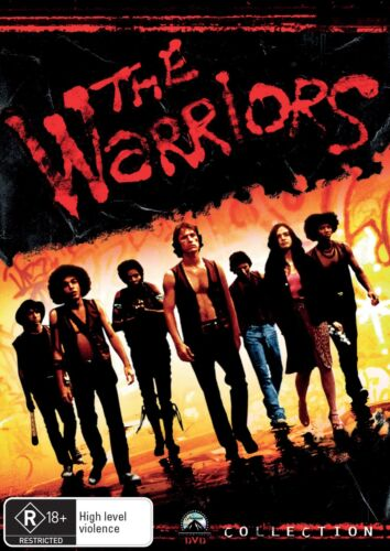 The Warriors DVD Region 4 NEW