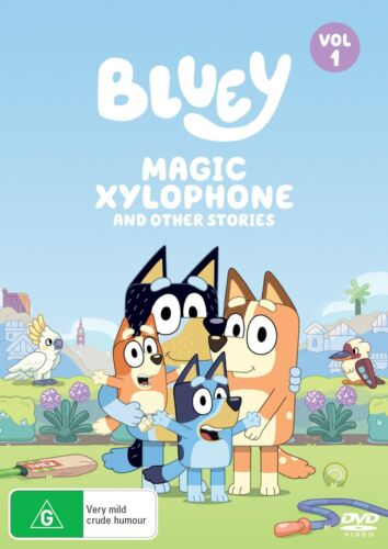 Bluey Volume 1 Magic Xylophone and Other Stories DVD Region 4 NEW