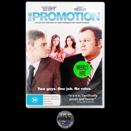 The Promotion (DVD) R4 - Seann William Scott - John C. Reilly - Comedy
