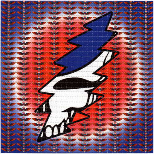 Grateful Wings Bolt BLOTTER ART perforated sheet paper psychedelic art