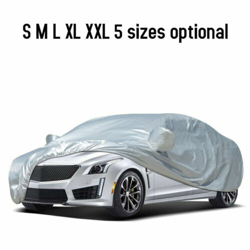 Universal Full Car Cover UV Protection Breathable Outdoor M L XL XXL