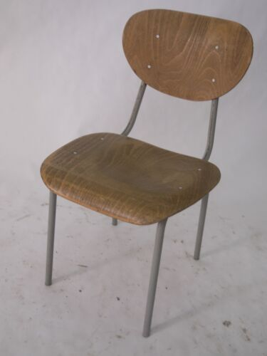 cool industrial school chairs- cute- sold individually.