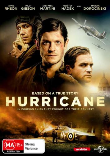 Hurricane (DVD, 2019), NEW SEALED AUSTRALIAN RELEASE REGION 4