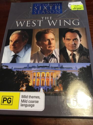 THE WEST WING Complete Sixth Season New Sealed 6 DVDs R4