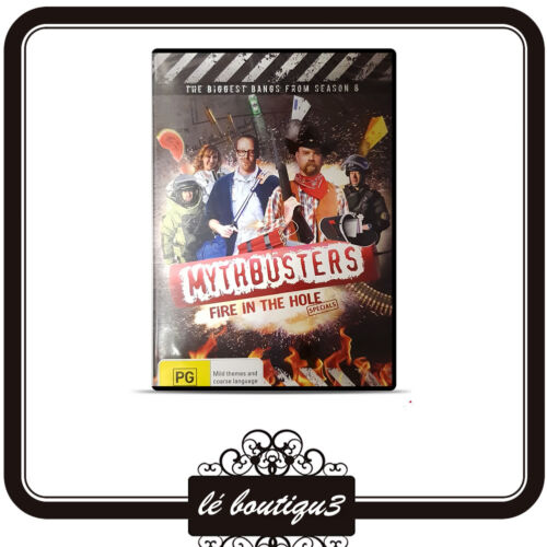 Mythbusters - Fire In The Hole (DVD, 2012)