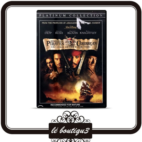 Pirates Of The Caribbean - The Curse Of The Black Pearl (2 DVD, 2006)