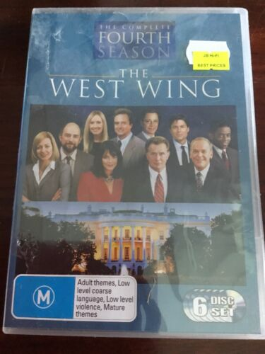 THE WEST WING Complete Fourth Season New Sealed 6 DVDs R4