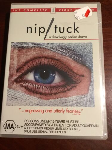 NIP / TUCK Complete First Season Julian McMahon New Sealed 5 DVDs R4 PAL