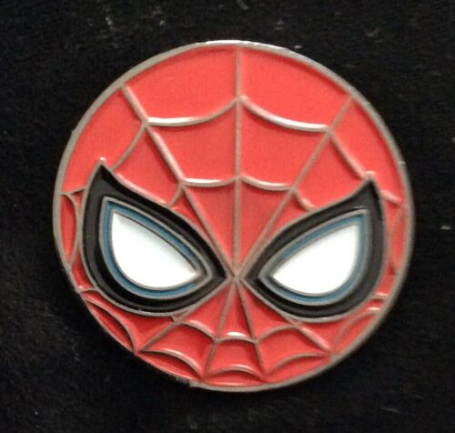 SPIDER-MAN round ENAMEL  COLLECTORS PIN BADGE BUY 2 GET 3 of these
