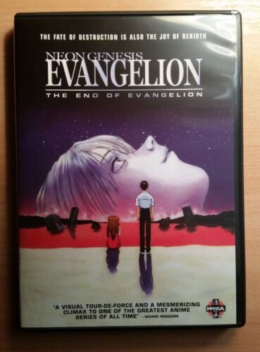 The End of Evangelion Neon Genesis DVD Anime Film R1 Rare