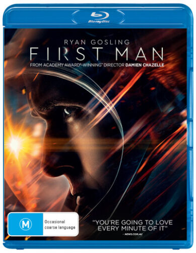 First Man  - BLU-RAY - NEW Region B