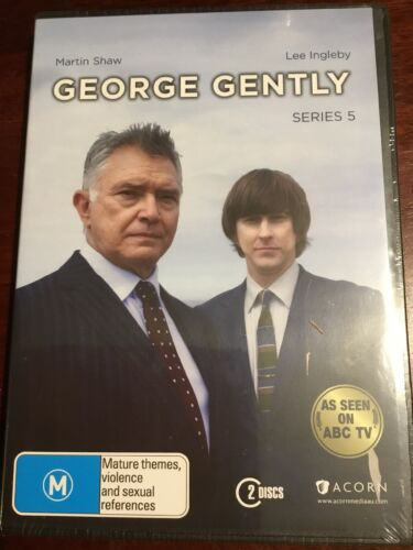 GEORGE GENTLY Series 5 Martin Shaw 2 New Sealed DVDs R4 PAL