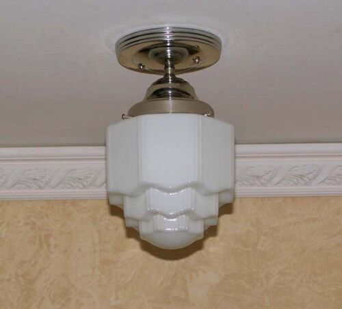306 VINTAGE antique Ceiling Light Lamp KITCHEN BATH PORCH WEDDING CAKE