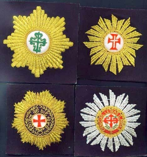 The Order of Santiago Commander Portugal bottom right onlyOther Militaria - 135