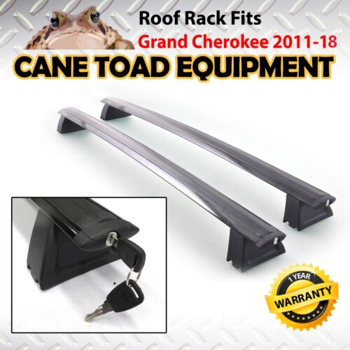Roof Rack Cross Bar Rail Fits Jeep Grand Cherokee 2011-18 Baggage Luggage Carrie <br/> stock in QLD