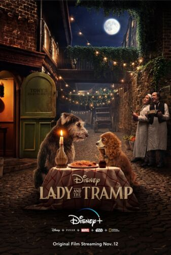 Lady and the Tramp 2019 Movie Poster (24x36) - Tessa Thompson, Justin Theroux v1