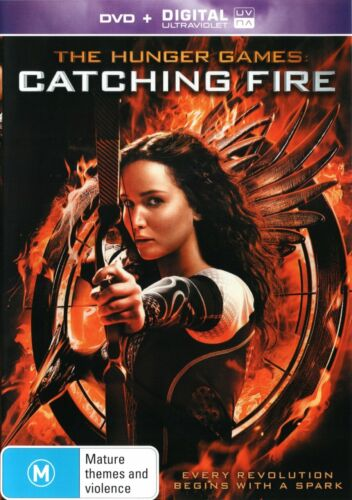 The Hunger Games : Catching Fire DVD, NEW SEALED AUSTRALIAN RELEASE R4