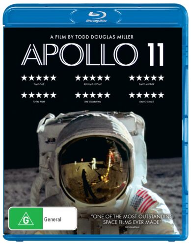 Apollo 11 Blu-ray Region B NEW // PRE-ORDER for 04/12/2019 <br/> *** PRE-ORDER *** EXPECTED DELIVERY DATE 04/12/2019 ***