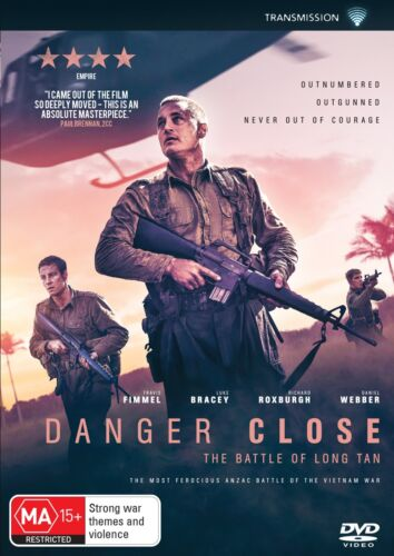 Danger Close The Battle of Long Tan DVD Region 4 NEW