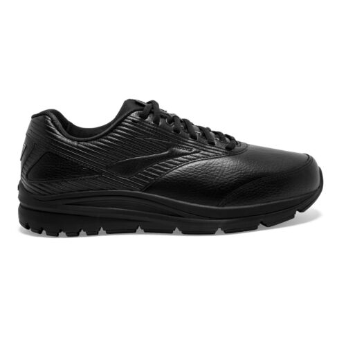 SAVE $$$ Brooks Addiction Walker 2 Leather Mens Walking Shoes (2E) (O72)